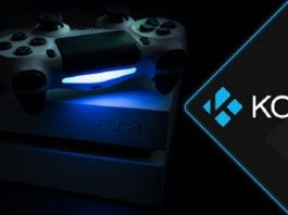 Kodi on PS4 feature