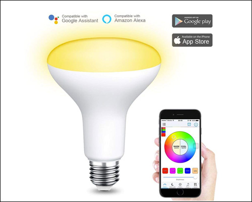 Zombber-WiFi-Light-White-and-Color-Ambiance-LED-Smart-Dimmable-E26-Bulb