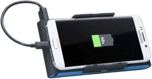 Battery Pack Charger with Smartphone Grip